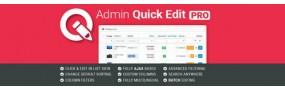 Admin Quick Edit PRO