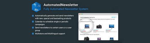 AutomatedNewsletter - Fully Automated Newsletter System v1.7.1, v2.6, v3.6 (Nulled)