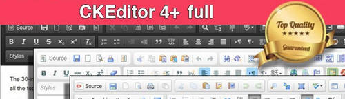 CKEditor 4+ OpenCart - Full v4.8.0