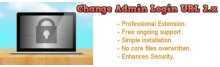 Change Admin Login URL 2.x