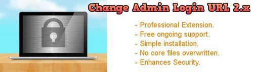 Change Admin Login URL 2.x OpenCart