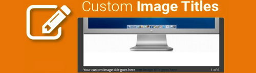 Custom Image Titles OpenCart v2.7.0, v2.7.4