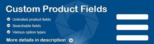 Custom Product Fields OpenCart v1.5, v2.x