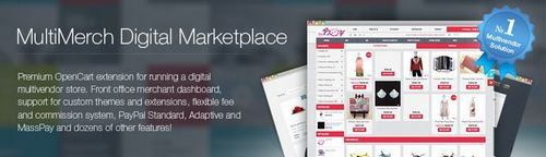 MultiMerch Marketplace - Multi Vendor Store System for OpenCart v7.7, v8.7.2