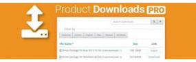 Product Downloads PRO