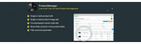 ProductManager - Fast Bulk Product Management Tool