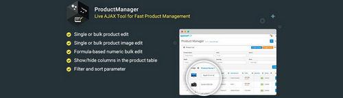ProductManager - Fast Bulk Product Management Tool v1.4, v3.1.3, v4.1.3 (Nulled)