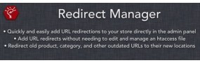Redirect Manager for OpenCart