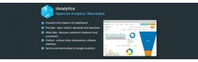 iAnalytics - OpenCart Analytics. Reinvented