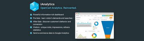 iAnalytics - OpenCart Analytics. Reinvented v2.2.1, v3.4.1, v4.4.1 (Nulled)