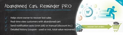 Abandoned Cart Reminder Pro OC1.5.x, OC2.x