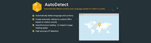 AutoDetect - Automatically Detect Currency and Language v1.6, v2.7, v3.7.1 (Nulled)