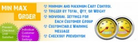 Min/Max Order Limits - Per Customer Group