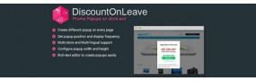 DiscountOnLeave - Recover Abandoning Visitors