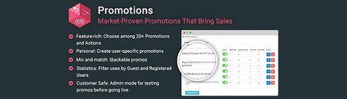 Promotions - Market-Proven Promotions That Bring Sales OpenCart v2.1, v4.2, v5.2 (Nulled)