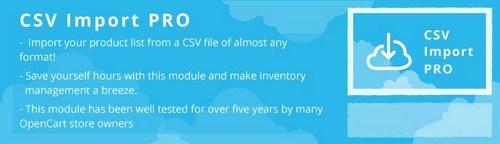 CSV Import PRO OC2