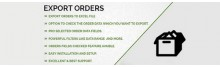 Export Orders in One Click