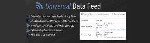Universal Data Feed OpenCart v1.9.2