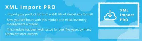 XML Import PRO vOC1.5.x, vOC2.x