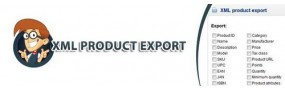 XML Products Export