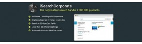 iSearch Corporate - Huge Databases Instant Responsive Search