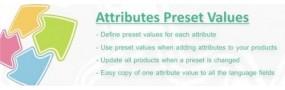 Attributes Preset Values