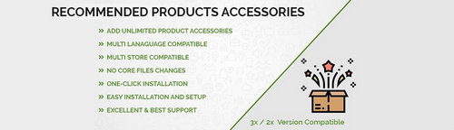 Recommended Products Accessories v1.2