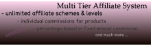 Advanced Multi Level Affiliate System