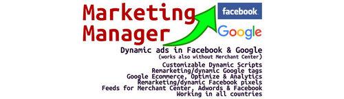 Complete Marketing Manager (Google, Facebook & more)