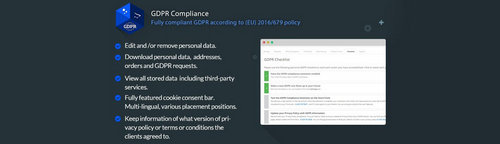 GDPR Compliance for OpenCart Merchants v1.9.4, v2.9.4, v3.9.4 (Nulled)