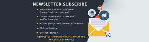 Newsletter Subscribe OpenCart v1.2