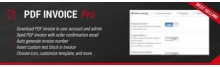PDF Invoice Pro OpenCart