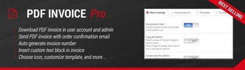 PDF Invoice Pro OpenCart v1.5, v2.x