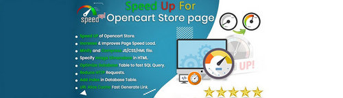 Speed Up opencart store page - Speed Up & fast your site