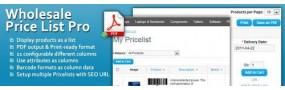 Wholesale Price List Pro
