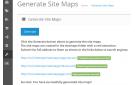 Google Site Maps Generator - vQmod v.2.0