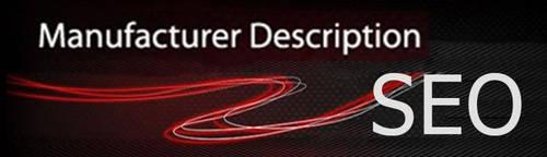 Manufacturer Description and Meta-Tag OpenCart v1.07