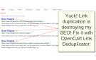 OpenCart SEO Link De-duplicator v2.0.3