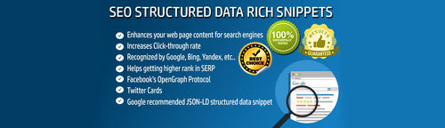 SEO Structured Data - Rich Snippets - Microdata OpenCart