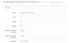 Intelligent Random Products & Category Products Module v3.8.0.6