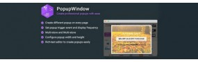 PopupWindow - Create Professional Popups with Ease