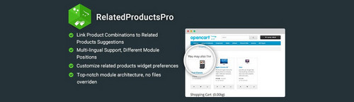 RelatedProductsPro - Intelligent Related Products on Checkout v1.4.1, v2.3.1, v3.2 (Nulled)