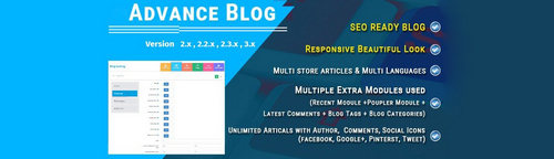 Advance Blog Module for OpenCart