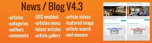 Blog / News extension for OpenCart v4.5.2