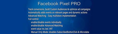 Facebook Pixel PRO OpenCart v2.2.0
