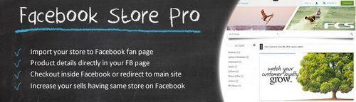 Facebook Store Pro OpenCart v3.5, v3.9.2