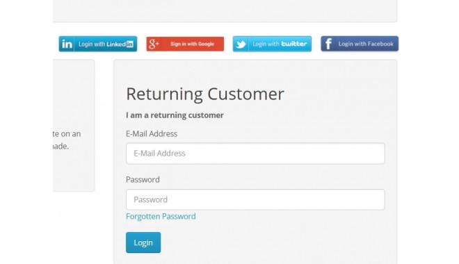 Social Login (Facebook, Google, Twitter, LinkedIn) OpenCart
