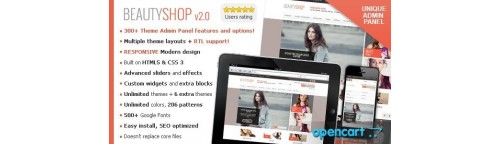 BeautyShop - Responsive OpenCart Theme v2.5