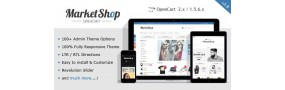 MarketShop - Multi-Purpose Premium OpenCart Theme