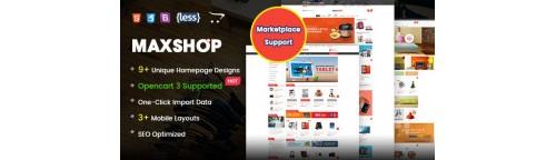 MaxShop - Fastest & Responsive Multipurpose OpenCart Theme